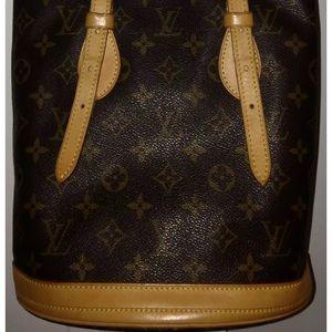 Louis Vuitton small bucket bag